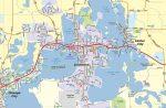 Chisago Lakes, MN Map