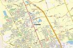 Leander, TX Map