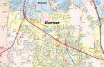 Garner NC Map