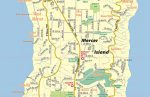 Mercer Island WA Map