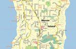 Mercer Island WA Map