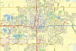 Mason City IA Map