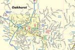 Oakhurst CA Map