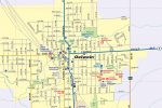 Oelwein IA Map