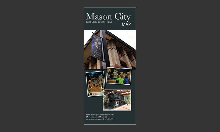 Mason City IA Digital Map - Town Square Publications