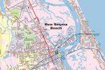 Southeast Volusia County FL Map