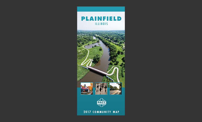 Plainfield Il Digital Map Town Square Publications