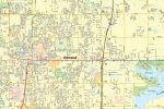 Edmond OK Map