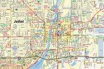 Joliet IL Map