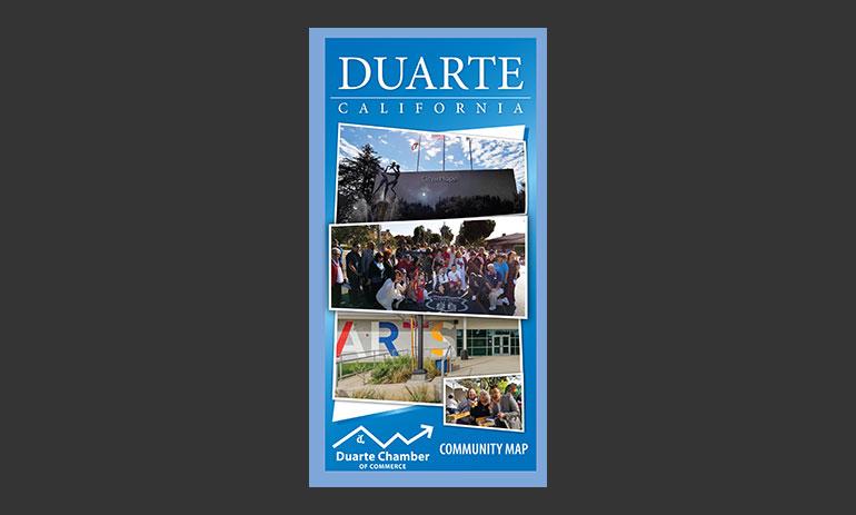 Duarte CA Digital Map - Town Square Publications on