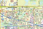 Hoffman Estates IL Map