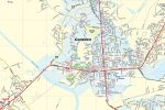 Kershaw County SC Map