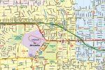 Arcadia CA Map