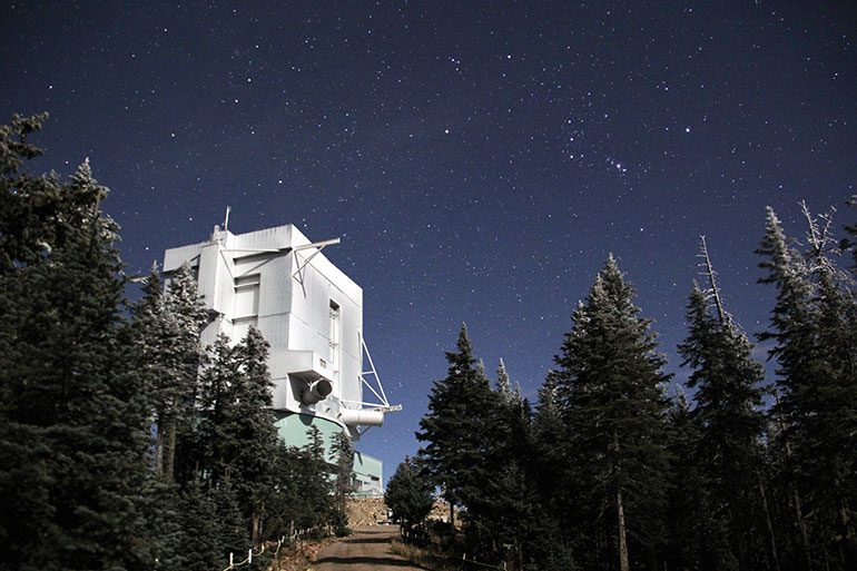 Mt Graham International Observatory