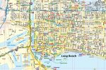 Long Beach CA Map